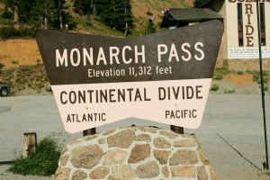 Monarch Pass, Continental Divide