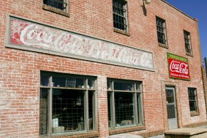 Old Coca Cola bottling building.