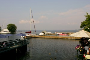 Marina at Lake Ontario