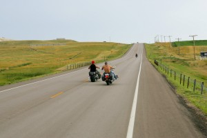Bikers on highway 79 south